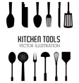 kitchen tools editable vector image