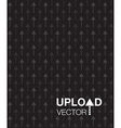 black upload background vector image