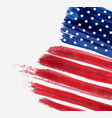 usa abstract flag brushed background abstract vector image