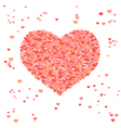 Valentine background with space for text vector image vector image