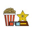 movie entertainment design vector image