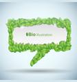 bio concept vector image