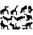 breakdance collection - vector image