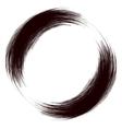 Grunge Round Frame vector image