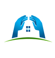 House Hands vector image vector image