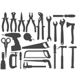 hand work tools vector image