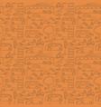 seamless drawn transport pattern vector image