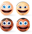 international faces vector image vector image