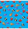 Moorish Idol fish vector image