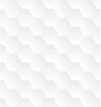Subtle geometrical white seamless pattern vector image