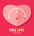Full love vector image