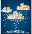 icons rain vector image