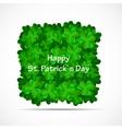 Saint Patrick Day Background vector image