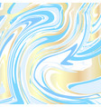 handmade craft liquid texture watercolor paint vector image