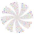 users fireworks swirl rotation vector image