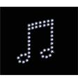 Diamond Music Symbol vector image