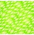 Green grass waves seamless pattern vector image