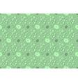 Decorative Flower Pattern vector image vector image