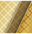 gold border vector image vector image