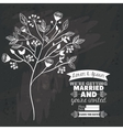 Rustic design black and white vector image