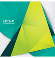Abstract Triangle Shape Background vector image