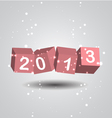 2013 New Year Digits vector image