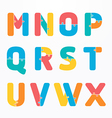 alphabet jigsaw concept concept banner vector image vector image