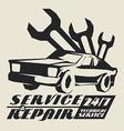 repair service vector image