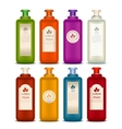 Set of Cosmetic bottles vector image