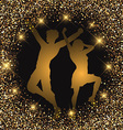 glitter party people 1708 vector image vector image