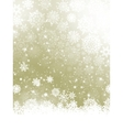 Elegant Christmas with snowflakes EPS 10 vector image vector image