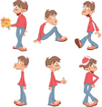 Cute Boys for you Design vector image