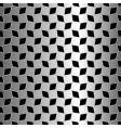 metallic diamonds texture vector image