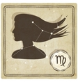 astrological sign - virgo vector image