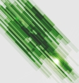 Green straight lines abstract background vector image