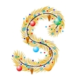 S - Letter vector image