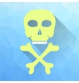 Skull and Crossbones Icon vector image
