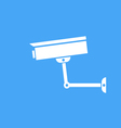 Camera surveillance protection icon vector image