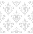 Seamless Wallpaper in the Style of Baroque vector image