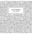 curve seamless pattern vector image