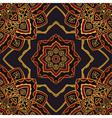Dark pattern of mandalas vector image