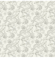 fantasy pattern in gray colors vector image vector image