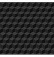 Black geometric seamless background vector image vector image