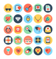Love and Romance Icons 1 vector image