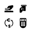 money making simple related icons vector image