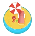 best summer vacation vector image