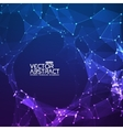 Abstract background Futuristic technology vector image vector image