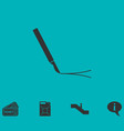 incision surgery icon flat vector image
