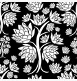 seamless tree pattern 023 vector image