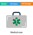 Medica case icon vector image